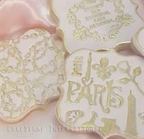 VERSACE PATTERN FOR CAKE | VERSACE BRAND MOLD| VERSACE CHAINS TEXTURE STAMP