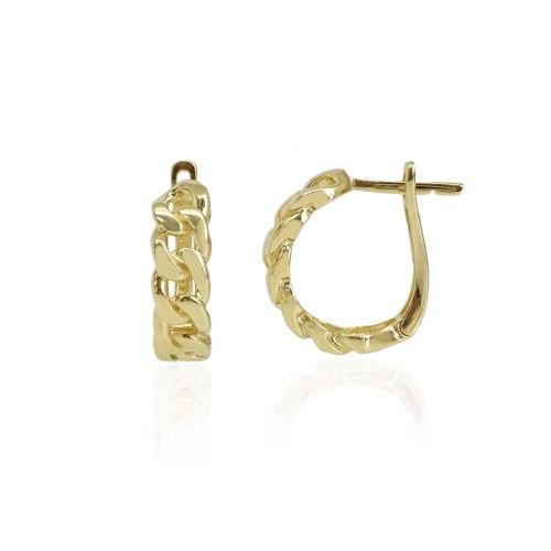 חצי חישוק זהב מיוחד דגם חוליות