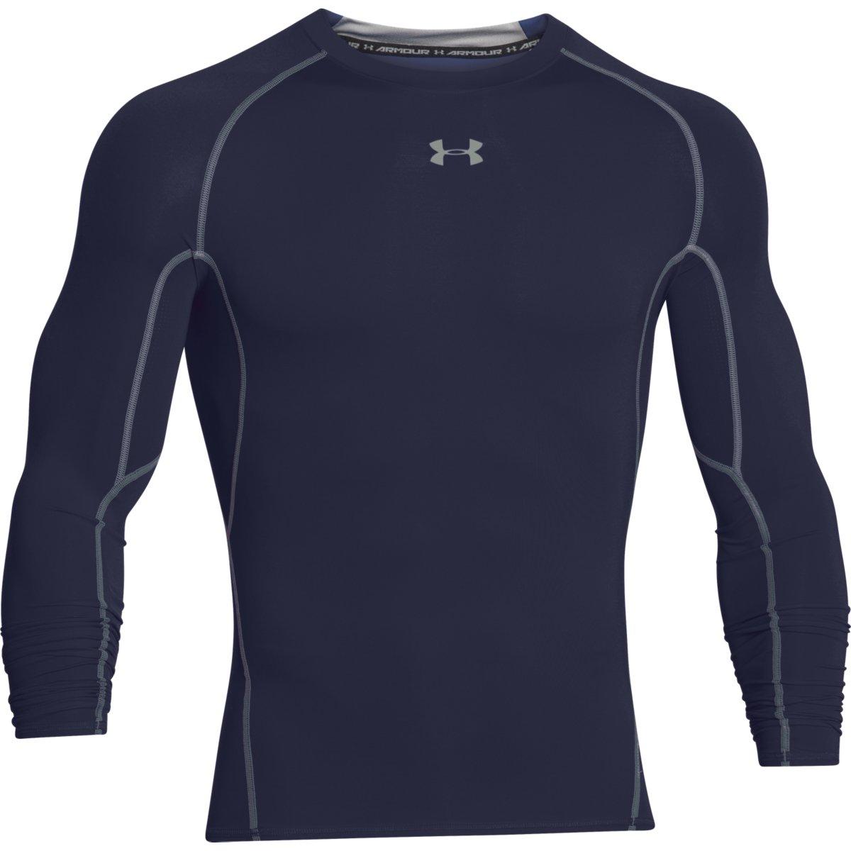 חולצה אנדר ארמור שרוול ארוך לגבר 1257471-410   Under Armour Compression s long sleeve shirt