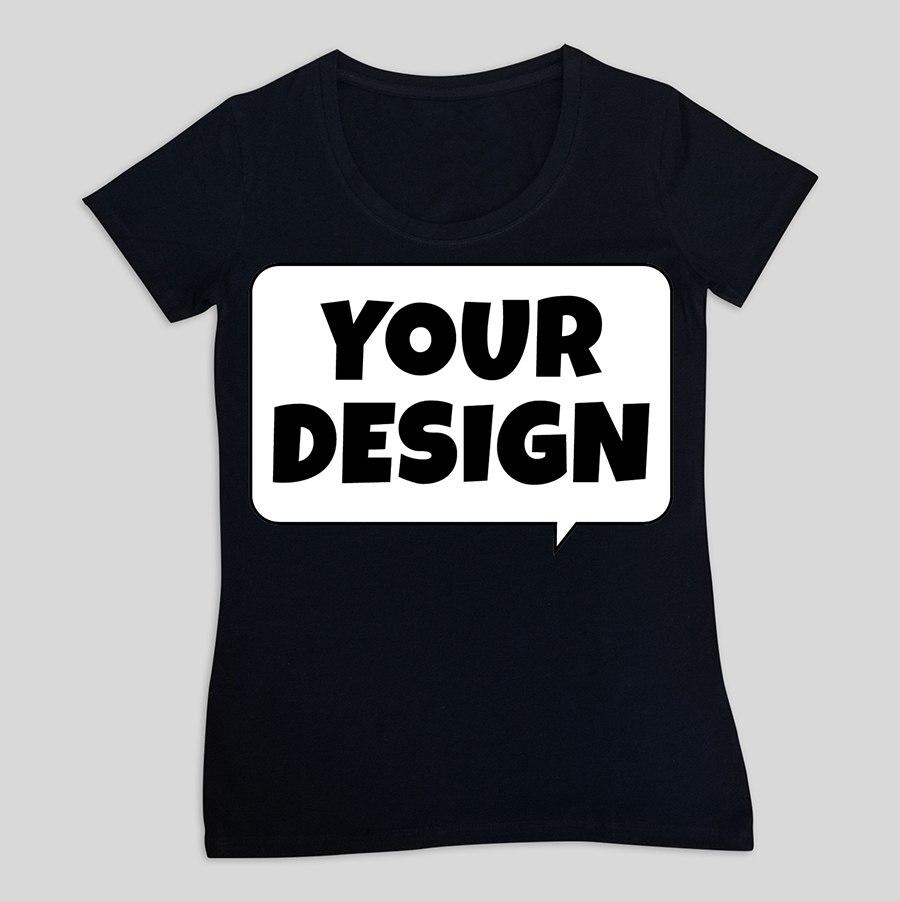 חולצת טי שחורה נשים