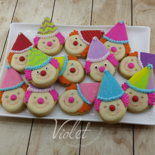 עוגית ליצן לפורים