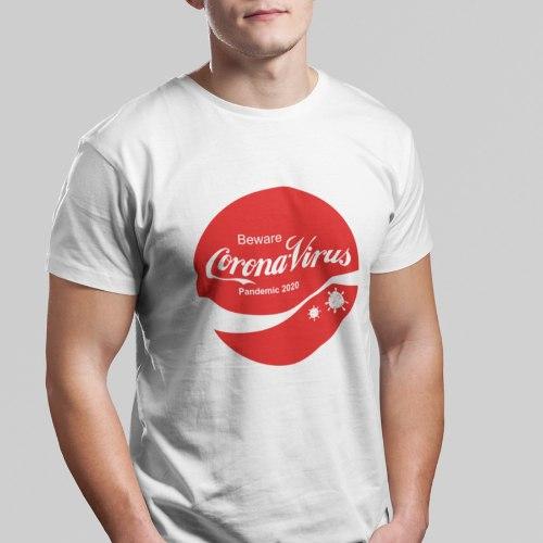חולצת טי Beware Corona-Virus