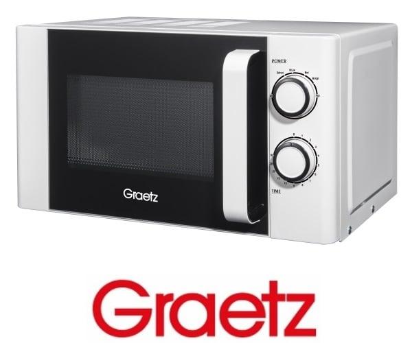 Graetz מיקרוגל מכני 20 ליטר לבן דגם MW-225