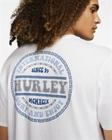 HURLEY GROOVY T-SHIRT - WHITE