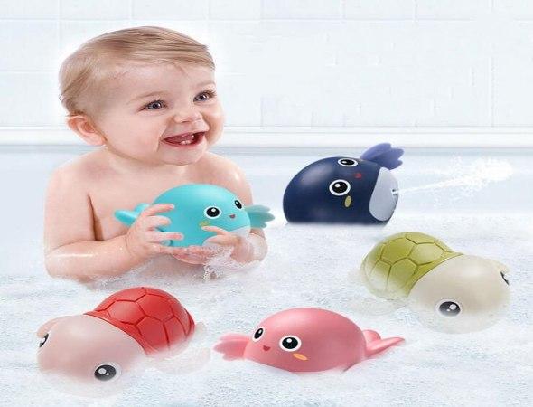 סט 3 יחידות צעצועים לאמבטיה בדמויות חיות לתינוק