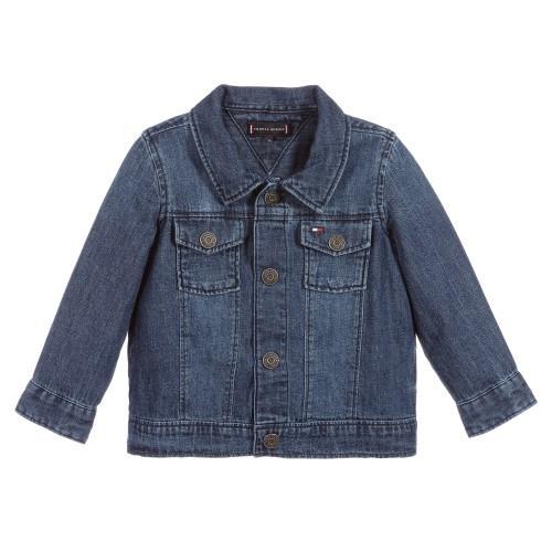 ג'אקט ג'ינס תינוקות TOMMY HILFIGER כחול