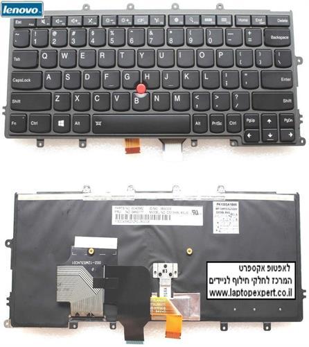 מקלדת למחשב נייד לנובו IBM Lenovo X230 X240 X240S X250 X260 keyboard 04X0177 0C43982 04X0215