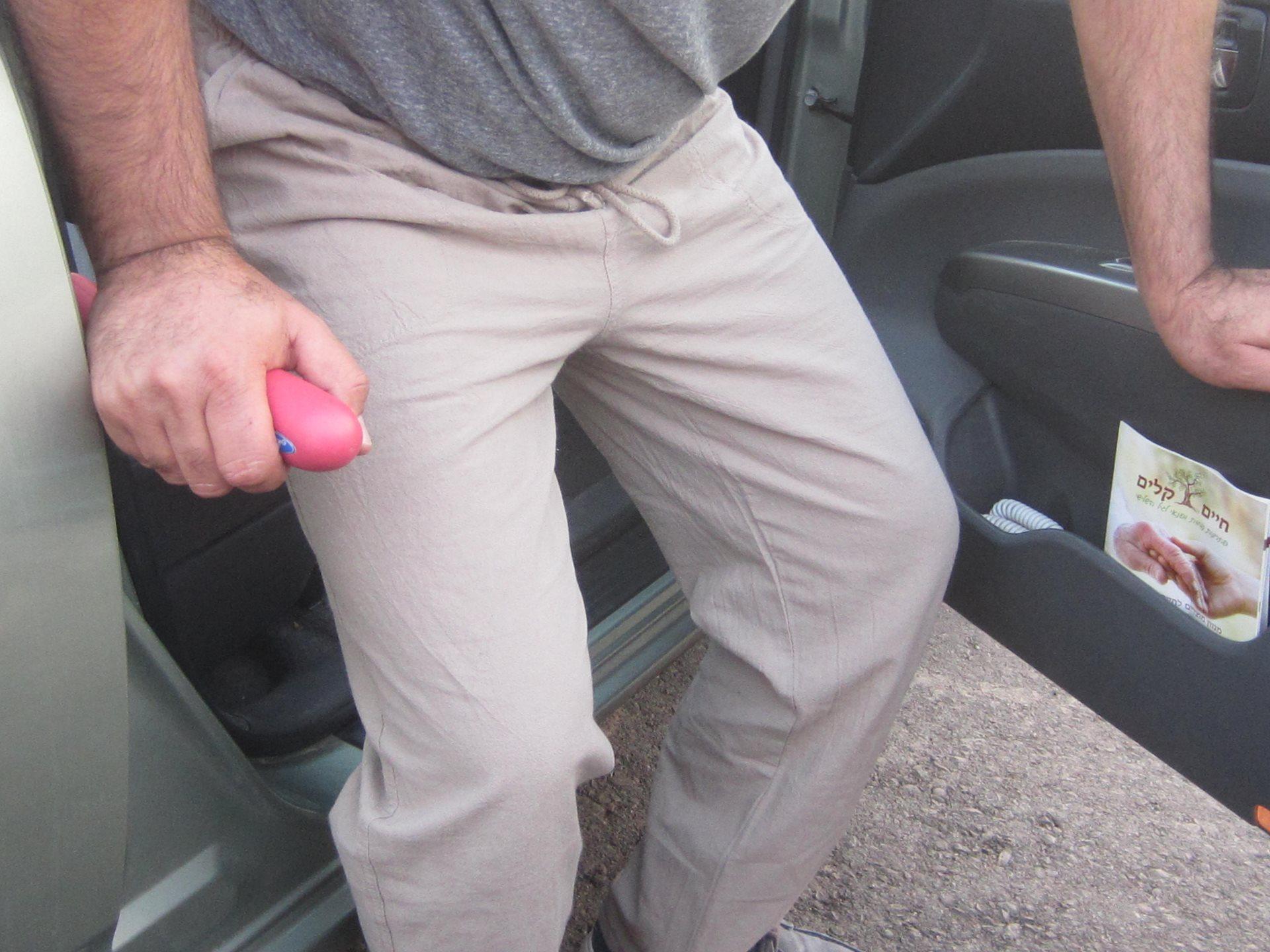 ידית עזר לכניסה ויציאה מהרכב