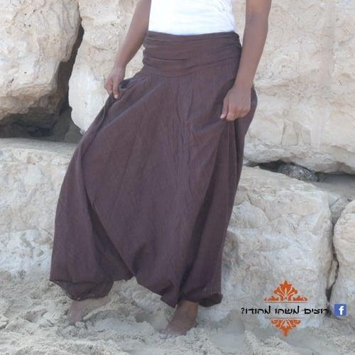 מכנסי אלאדין כותנה נפאלית
