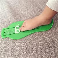 סרגל למידת נעליים לפעוטות וטף