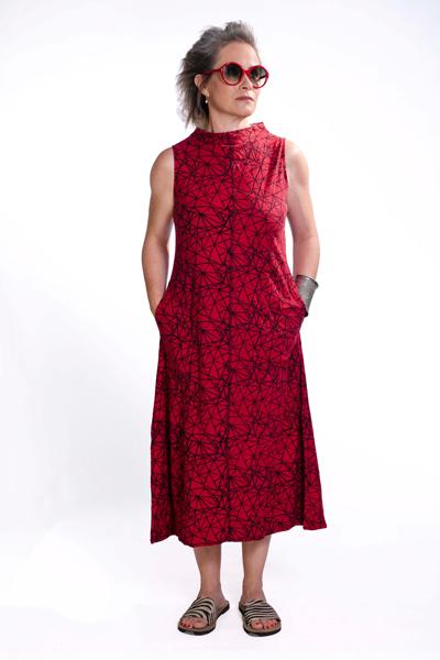 שמלה ארוכה חצי גוף