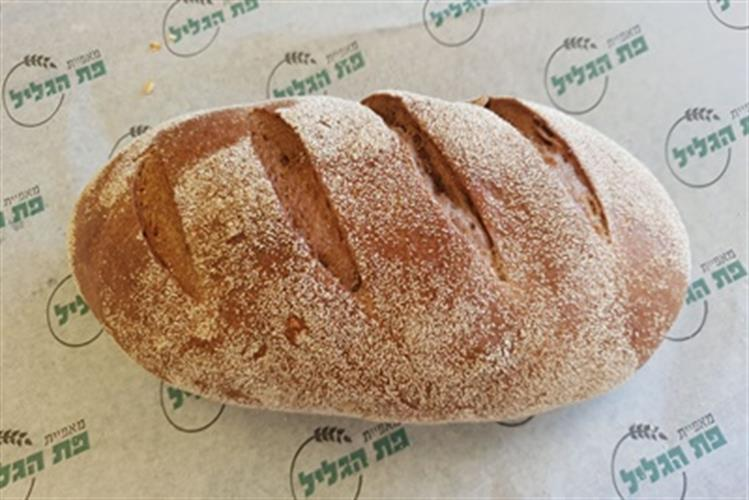 לחם מחמצת שיפון ללא סוכר, שמרים ושמן