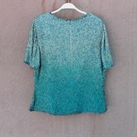 חולצת פייטים משגעת משנות ה-80 מידה L