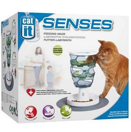 משחק מבוך אכילה Senses Cat it