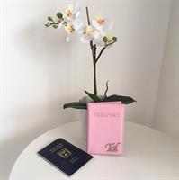 כיסוי לדרכון דמוי עור רוד בייבי