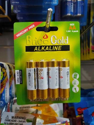 4-סוללות אלקדין AA 1.5v