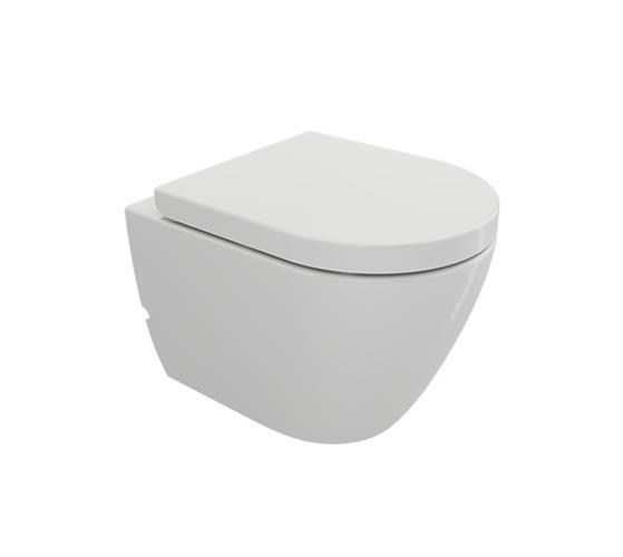 אסלה תלויה תוצרת BOCCHI דגם JET ללא תעלה