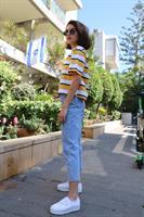 ג'ינס גבוה אנתוניו ישר