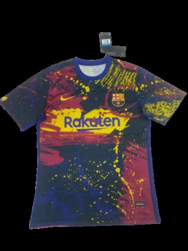 ברצלונה חולצת החימום המיוחדת