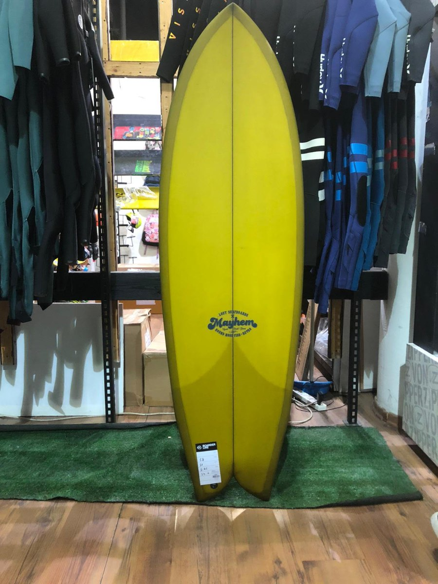 LOST RNF (Round Nose Fish) RETRO PU 5'8 ...
