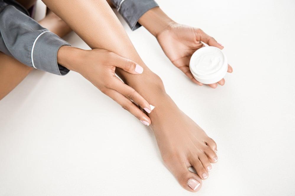 חמאת רגליים טיפולית