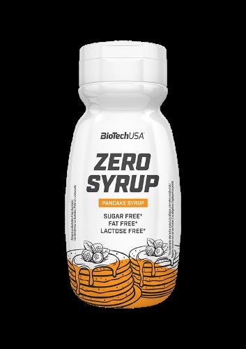 ZERO SYRUP|סירופ ללא סוכר,שומן ודל בקלריות במגוון טעמים מבית BIOTECH