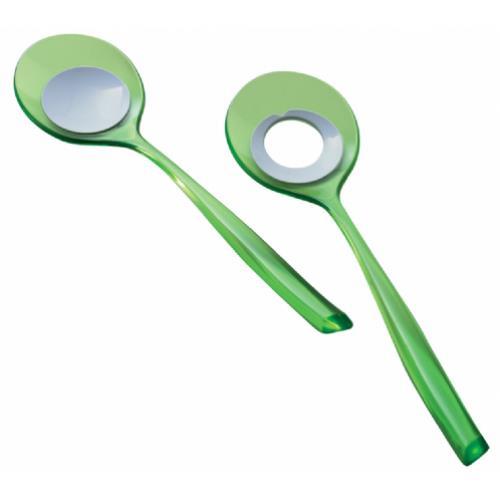 סט כפות אקרילי GLAMOUR ירוק