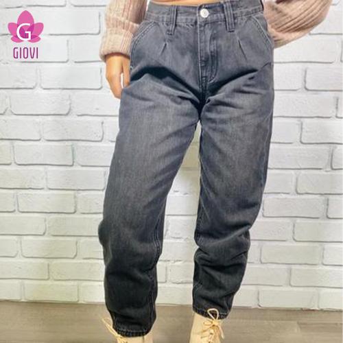 ג'ינס באגי(אפור)