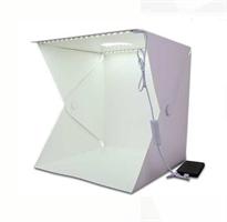 קופסת צילום מקצועית עם תאורה