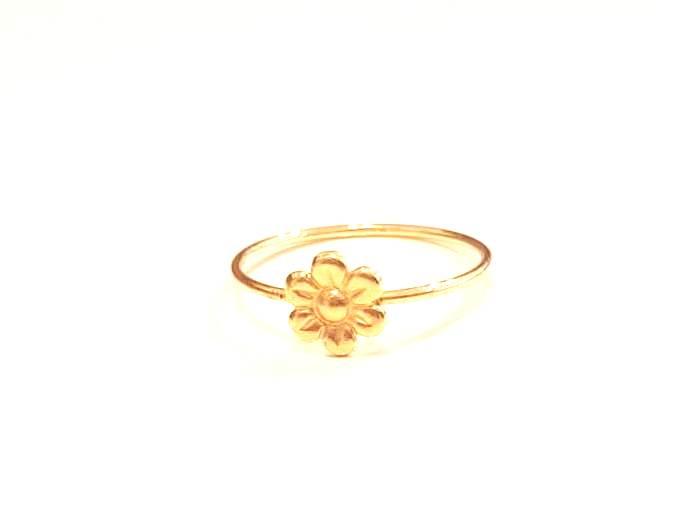 טבעת פרח קטן גולדפילד