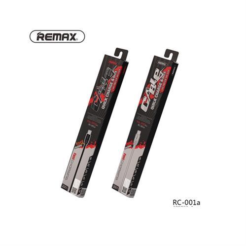 כבל Micro USB באורך 2מטר בצבע שחור REMAX איכותי במיוחד באריזה סגורה
