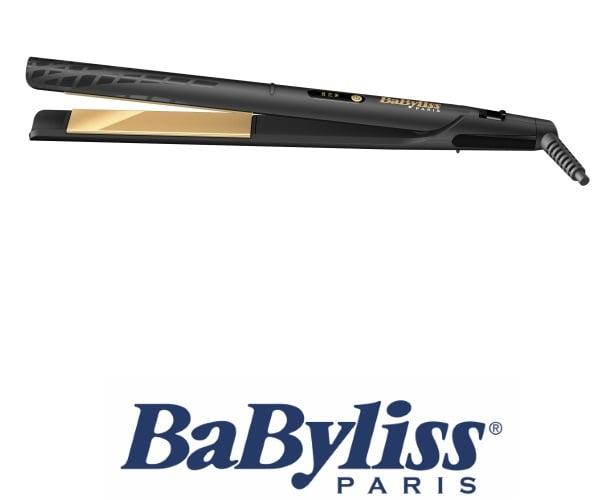 BaByliss מחליק שיער קרמי מוזהב  דגם ST420E