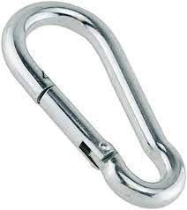 """טבעת ברזל מגולוון 8 מ""""מ ללא אבטחה"""