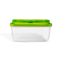 כלי אחסון מלבני מזכוכית פיירקס גודל 12X20X8, נפח 1.5 ליטר