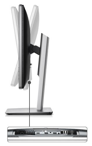 מסך מחשב Dell P2415Q 23.8 אינטש דל