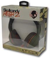אוזניות קשת עם מיקרופון ירוק צבאי SKULLCANDY HESH 2.0