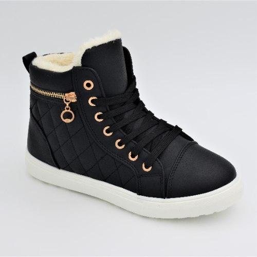 נעל פרווה מונדה - שחור