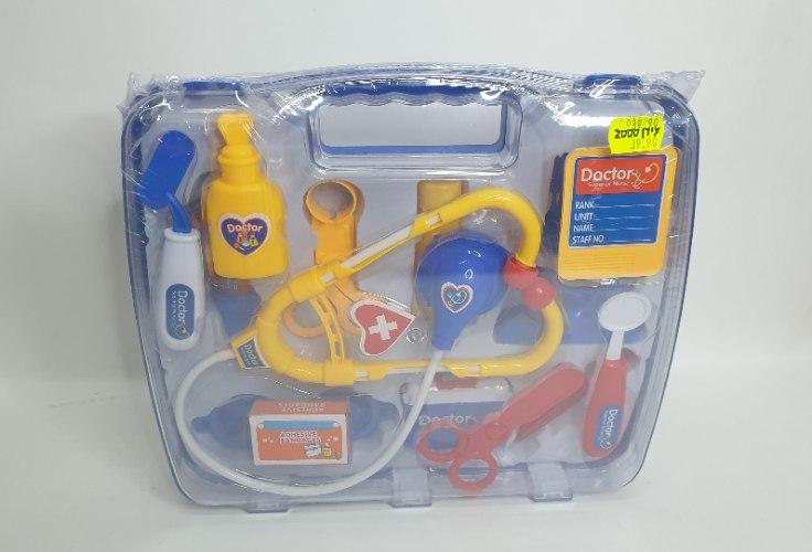 ערכת רופא לילדים במזוודה