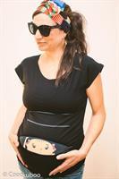 חולצת הריון קוקובו שרוול קצר תינוק מציץ