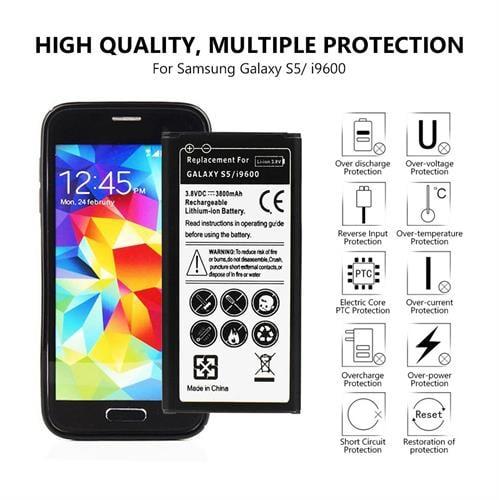 סוללה חליפית איכותית לטלפון  גלקסי 5-I9600