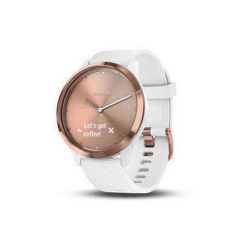 שעון דופק Garmin Vivomove HR Sport White