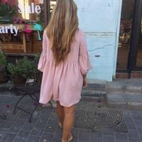 שמלת לינדה פודרה