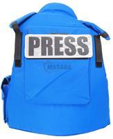 UN/press full bulletproof vest