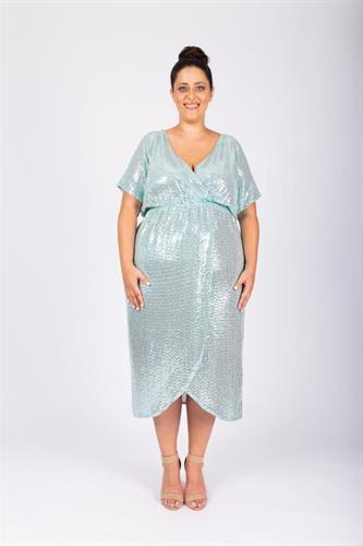 שמלת לורנה טורקיז