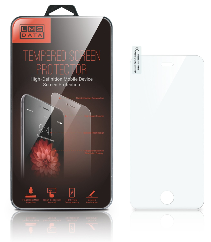 מגן זכוכית אייפון 5 מבית LMS DATA