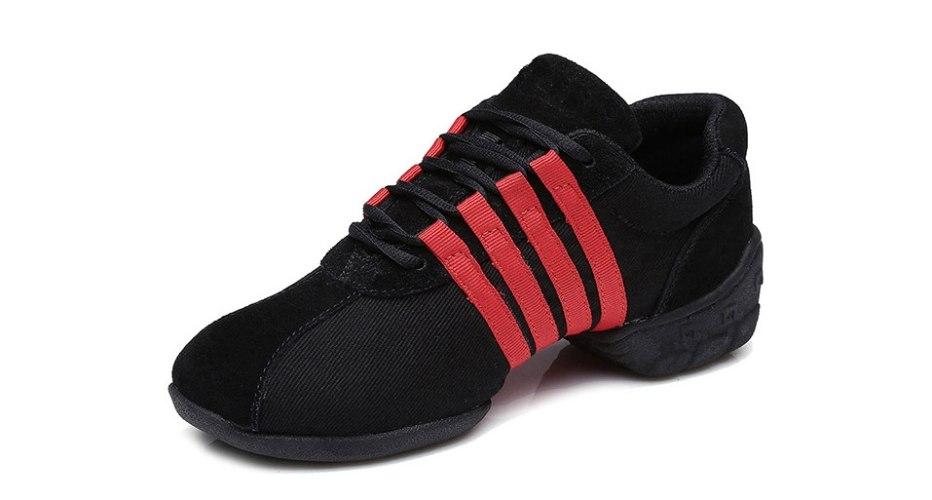 נעלי ריקוד לנשים, לגברים, ילדים, ילדות, מותג  HROYL נעלי ריקוד ג'אז T01 ארבעה צבעים