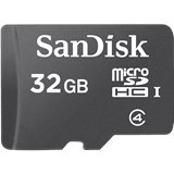 כרטיס זיכרון מיקרו סאנדיסק SDHC 32G Sandisk