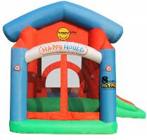 מתקן קפיצה מתנפח הבית השמח בשילוב יחידות מוסיקה - Happy Hop - קפיץ קפוץ