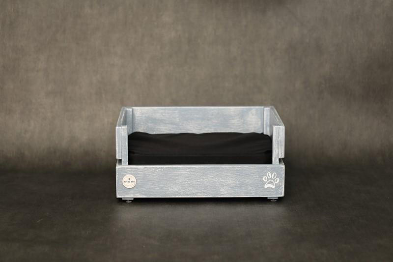 מיטה לכלב- דינגו XS אפור בטון