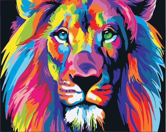 צביעה לפי מספרים - אריה ססגוני